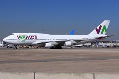Wamos Air  Boeing 747-412 EC-KSM (widebodies) Tags: madrid mad lemd widebody widebodies plane aircraft flughafen airport flugzeug flugzeugbilder wamos air boeing 747412 ecksm