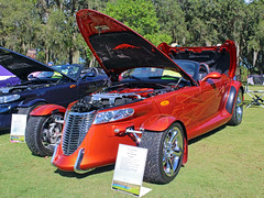 2001 Plymouth Prowler, Black Diamond Invitational (StevenM_61) Tags: carshow car automobile plymouth prowler 2001 coupe customcar beverlyhills florida unitedstates