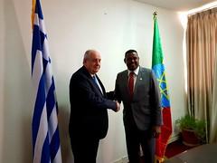 Επίσκεψη Υφυπουργού Εξωτερικών, Τέρενς Κουίκ, στην Αιθιοπία (Αδδίς Αμπέμπα 07.03.2019) (Υπουργείο Εξωτερικών) Tags: κουικ υφυπεξ αδδισαμπεμπα