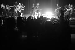 IMG_5531 (crosswalkchurch) Tags: thrive 2019 norge sisterhood ladies women conference auditorium worship band hands raised monochrome blackandwhite
