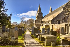 St Machars Cathedral - Old Aberdeen Scotland - 15th March 2019 (DanoAberdeen) Tags: bluesky building stmacharscathedral stmachar cemetery graveyard 2019 candid amateur aberdeen aberdeenscotland abdn abz aberdeenshire aberdeencity aberdeenuniversity aberdeenunionstreet universityofaberdeen cathedral danoaberdeen danophotoggraphy cemetary cementerio ancient historicscotland historicenvironmentscotland danophotography oldtimer oldaberdeen crypt secondlife goth christian christianity nikond750 grampian stmacharcathedral scotland museum 1800s 1900s victorian weathered scotch saintmachars outdoors uk gb ecosse escotia chanonry stcolumba clergy chaplain alumni graduation campus oilthighobardheathain scottish grave tomb history
