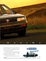1991 Nissan Maxima J30 Page 2 Aussie Original Magazine Advertisement (Darren Marlow) Tags: 1 3 9 19 91 1991 j 30 j30 n nissan m maxima s sedan c car cool collectible collectors classic a automobile v vehicle jap japan japanese 90s