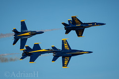 Blue Angels (AdrianH Photography) Tags: nikon aviation aeroplanes jets usnavy airshows