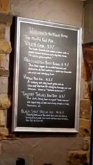Grassington 17.3.2019 (17) (bebopalieuday) Tags: yorkshiredales upperwharfedale grassington blackhorsehotel garrslane blackboard realale beers northyorkshire