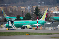 2019_03_24 737 MAX RNT-3 (jplphoto2) Tags: 737 737900 boeing737 boeing737900 deltaairlines deltaairlines737900 jdlmultimedia jeremydwyerlindgren krnt rnt renton aircraft airplane airport aviation