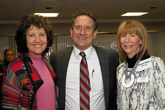 Rep. Sandi Levin with Nancy Welber Barr and Sandi Matz