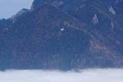 Schnappenberg St.Wolfgang Schnappenkirche (Aah-Yeah) Tags: schnappenberg hochgern hochlerch luchsfallwand schnappenkirche stwolfgang achental chiemgau bayern nebel mist fog einöder berg