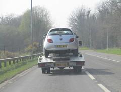 On its Last Drive? (occama) Tags: wj07avg 2007 ford ka climate silver old car cornwall uk