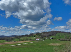 Cook Farm (George Neat) Tags: cook farm buildings structures house home barn fields rostraver washington township twp westmoreland county old historical clouds fayette scenic scenery landscapes laurelhighlands georgeneat pa pennsylvania patriotportraits neatroadtrips outside tourism