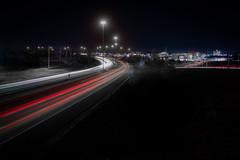 Belden Village at Night (daveding67) Tags: night lighttrails ohio oh cantonoh canton cantonohio beldenvillage