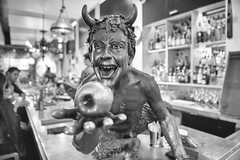 'When you eat from it, your eyes will be opened' (sniggie) Tags: countertop bar statue proofonmain genesis bible goodandevil serpent faun pan greekmyth fallofman fruit temptation treeofknowledge monochrome bwphotography ignorance innocence childlike fertility sexuality nature family fruitful
