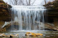 Fonferek glen waterfall (kirsten.eide) Tags: d3300 nikon colors spring wisconsin waterfalls