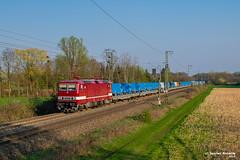 07/04/2019 | Salzbergen (SB-2013) Tags: trein zug goederentrein salzbergen bad bentheim dr deltarail delta rail 143 243 972 crafter volkswagen pon auto blg logistics