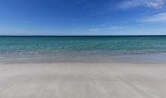 Blue Calm Sea (Keith Midson) Tags: storms sea ocean swimcartbeach bayoffires tasmania sky sand beach shoreline shore australia calm