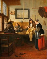 Quiringh van Brekelenkam. The Tailor's Workshop. 1661 (arthistory390) Tags: rijksmuseum