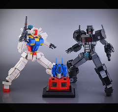 Latest Lego production (guitar hero78) Tags: toys lego afol moc mech mecha gundam fujifilm