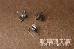 Titania - Jewellery Collection (em`lia) Tags: inamorata inamoratadoll artnouveau titania jewellery jewelry butterfly dragonfly doll bjd artdoll emlia emiliacouture