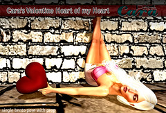 New Pose From Cara (Cara Sorex) Tags: valentine pose prop animation photography singles secondlife blogging
