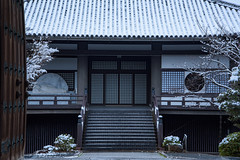 祇園八坂6・GionYasaka (anglo10) Tags: japan kyoto 京都府 東山 祇園 雪 snow 建築物 architecture 寺院 temple