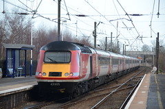 43305 at Morpeth (stephen.lewins (1,000 000 UP !)) Tags: lner ecml railways northumberland 125 morpeth hst class43 43305