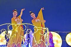 Chingay @ Chinatown (chooyutshing) Tags: performers decoratedfloat lightedup display rhapsodyinrhythm chingaychinatown eutongsenstreet chinesenewyear2019festival celebrations attractions peoplesassociation selectgroup peachgarden singapore
