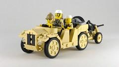SPA TL.37 (Rebla) Tags: fiatspa tl37 lego ww2 wwii world war ii 2 rebla i vehicle truck