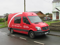 The Decline of the Village High Street.... (Andrew 2.8i) Tags: wales uk carspotting spotting street car cars streetspotting united kingdom road classic classics spot mobile postoffice village cdi panelvan commercial sprinter mercedesbenz 313 swyddfarpost cangensymudol