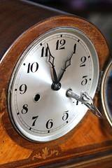 TIMEPIECES.  Macro Monday. (the.haggishunter) Tags: vintage 1920s windup chime clock key old timepieces macromondays macro closeup