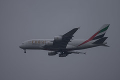 Emirates Airbus A380-600 A6-EVQ (Mikon Walters) Tags: emirates airbus a380600 a380 600 a6evq a6 evq nikon d5600 sigma 150600mm contemporary super zoom lens photography 600mm uncropped plane fly flight flying airline airliner jet landing birmingham bhx gear wheels twin engines wings