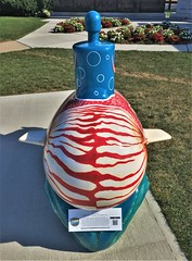 Nautilus  [from Connecticut Sub Trail] (ArtFan70) Tags: nautilus connecticutsubtrail connecticutsubmarinetrail ctsubtrail sub submarine nationalsubmarineworldwariimemorial groton connecticut ct newengland unitedstates usa america art sculpture gailbrookover brookover mollusc mollusk animal