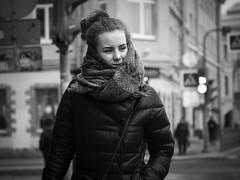 Street portrait (rsvatox) Tags: blacknwhite urban monochrome street nocolor city blackandwhite saintpetersburg people