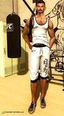 No736 (ashraf rathmullah) Tags: outfit nero italia sports short sport tank released equal10 sneakers versov laskarovsneakerssilver