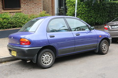 1996 Mazda 121 DB (jeremyg3030) Tags: 1996 mazda 121 db cars japanese