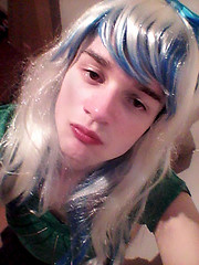 kiss :) (Night Girl (my feminine side) :)) Tags: feminine me crossdress cd crossdressing cross dress dresser boy femboy