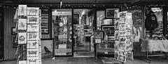 Store - Film Hasselblad (Photo Alan) Tags: store vancouver canada vancouverdowntown vancouverstreet street streetphotography blackwhite blackandwhite monochrome film filmcamera filmscan filmhasselblad hasselblad hasselbladxpan