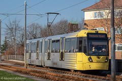 Manchester Metrolink 3067 (Mike McNiven) Tags: manchester metrolink tram metro lightrail lrv manchesterairport airport victoria marketstreet martinscroft baguley wythenshawe