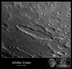 Schiller Crater - February 16, 2019 (The Dark Side Observatory) Tags: tomwildoner night sky space outerspace meade lx90 telescope asi190mc zwo astronomy astronomer science canon crater moon lunar weatherly pennsylvania observatory darksideobservatory tdsobservatory solarsystem earthskyscience phase luna carboncounty schiller february 2019