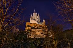 Alcazar de Segovia (Victor Aparicio Saez) Tags: alcazar segovia naturaleza nocturna fotoconamparohervella atardecer