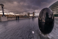 Egg and Bridge (trevorhicks) Tags: london tower bridge naked nude river thames people tiles sky wall clouds outdoor lights floor canon 5s mark iv sigma reflections building england