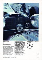 1964 Mercedes-Benz Grosser V8 300hp W100 International Original Magazine Advertisement (Darren Marlow) Tags: 1 3 4 6 9 19 64 1964 w 100 w100 300 m mercedes b benz g grosser v v8 s sedan saloon c car cool collectible collectors classic a automobile vehicle germany german e european europe 60s