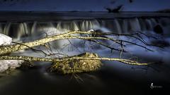 Quelques regrets. (pierrelouis.boniface) Tags: longexposure longexposures pauselongue canon legrandbornand hautesavoie river riviere cascade rocks rocher