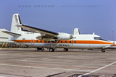 SchreinerAW_F-27_PH-SFB_19870403_HAJ (Dirk Grothe | Aviation Photography) Tags: schreiner airways f27 phsfb haj