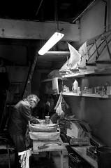Collioure - Le JARDIN D'ISATIS (regis.grosclaude) Tags: maquettes catalanes barques louisbaloffi collioure france bateau boat bois wood nb lumiere