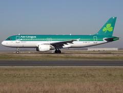 "EI-DER, Airbus A320-214, c/n 2583, EI/EIN/Shamrock/Aer Lingus, ""St Mel / Mel"",  CDG/LFPG 2019-02-15, taxiway Bravo-Loop. (alaindurandpatrick) Tags: ei ein shamrock aerlingus airlines eider cn2583 a320 a320200 a320214 airbus airbusa320 airbusa320200 airbusa320214 airliners jetliners cdg lfpg parisroissycdg airports aviationphotography"