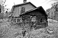 ABANDONED...FORGOTTEN?, ACA PHOTO (alexanderrmarkovic) Tags: abandoned abandonedproperty blackandwhite acaphoto michipicotenrivervillage ontario canada abandonedhome