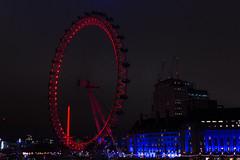 London / Coca-Cola London Eye (moltes91) Tags: london night nikon d7200 travel voyage summer vacances 2018 20mm rouge noir et blanc black white red cocacola eye