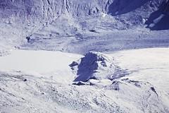 Moraine Lake (zeesstof) Tags: geo:lat=4707454728 geo:lon=1275205064 geotagged zeesstofsmom kodachrome film 35mmslidefilm mamiya 1969 summerholiday mountains alps austrianalps triptothegrossglockner snow snowinsummer glacier pasterzeglacier grossglockner 3798m highestmountaininaustria glacialdeposits moraine terminalmoraine morainelake