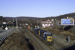 CSX Local B740 (Mojave511) Tags: csx palmer ma railroad train captureone12