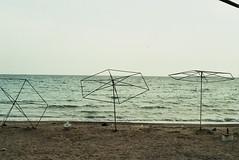 Tasuçu, Turkey. (ansowest) Tags: beach destruction horizon sea nikon film analog 35mm agfavista turkey tasuçu