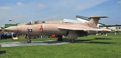 Hawker Siddeley Buccaneer S.2B XX889 amongst the Gulf War display at RAF Cosford Airshow 10.06.18 (Trevor Bruford) Tags: raf cosford airshow shropshire west midlands 100 years aircraft airplane planes hawker siddeley buccaneer s2b xx889 gulf war jet fighter bomber aviation warbird